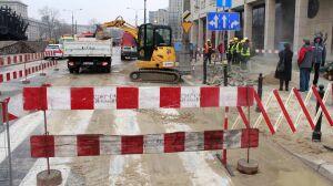"""Awaria na Muranowie: """"naprawa potrwa kilkanaście godzin"""""""