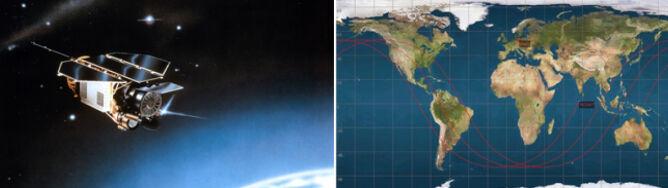 Satelita wielkości auta runie na Ziemię