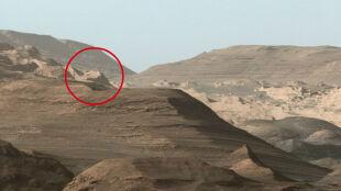 Starożytna cywilizacja na Marsie? Internauci widzą na zdjęciu NASA działalność kosmitów