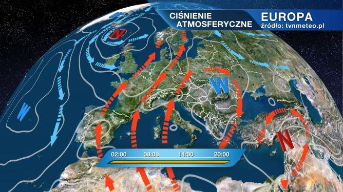 Pogodę w Polsce kształtuje wyż