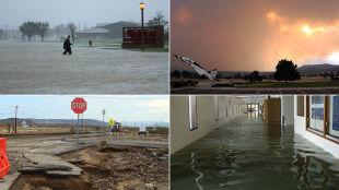 Huragany, powodzie, pożary. Połowa baz wojskowych USA narażona jest na ekstremalną pogodę
