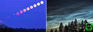 To była niezwykła noc. Obłoki srebrzyste i pełnia Księżyca