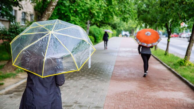 Deszczowy i chłodny koniec tygodnia. <br />Miejscami pojawią się burze