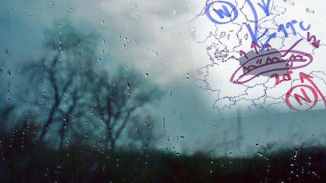 Polska w deszczowej pułapce. Winny front okluzji