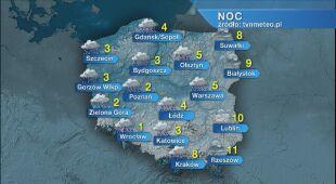 Prognoza pogody na noc 13.11/14.11