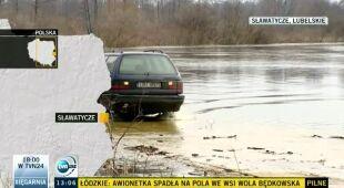 Podtopienia m.in. na Lubelszczyźnie (TVN24)